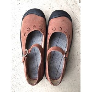 Keen Mary Jane Shoes Suede